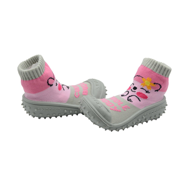 "Skidders New 2019 Collection Baby Toddler Girl Grip Shoes ""Cuddle Buddy"""