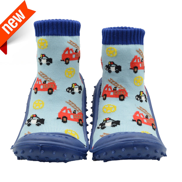 Skidders New 2019 Collection Baby Toddler Boys Grip Shoes 'Cars' - Skidders.com