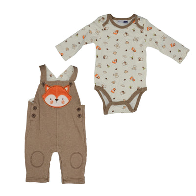 Vitamins Baby-Boys Newborn 2 Piece Fox Pant Set - Footsis.com