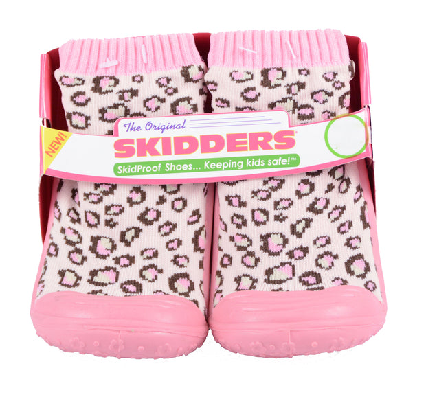 Skidders Baby Toddler Girls Leopard Shoes Style XY4189