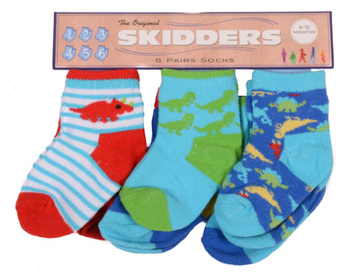 Skidders Baby Boys Ankle Socks 6 pk - XP1805