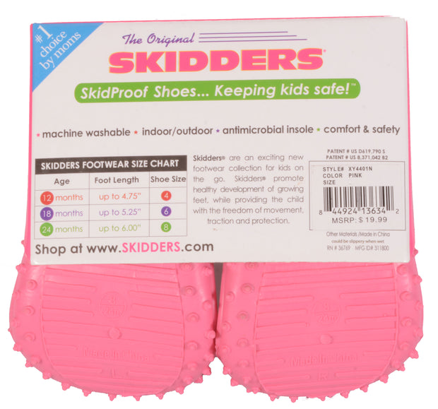 Skidders Baby Toddler Girls Shoes Style XY4401 - Skidders.com