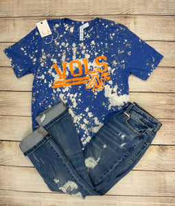 VOLS Acid Washed Tee