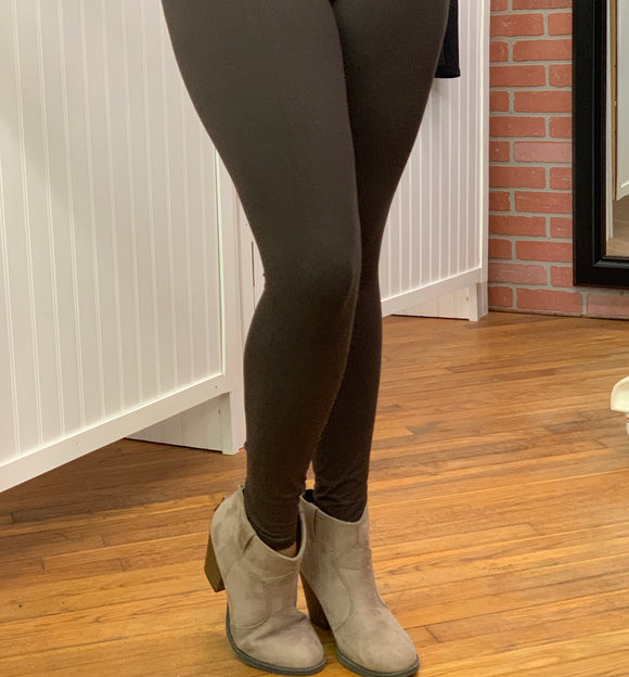 Brown Buttery Soft Leggings