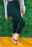 Buttery Soft Capri Leggings (Plus Size)