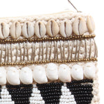 Shell Clutch, creme