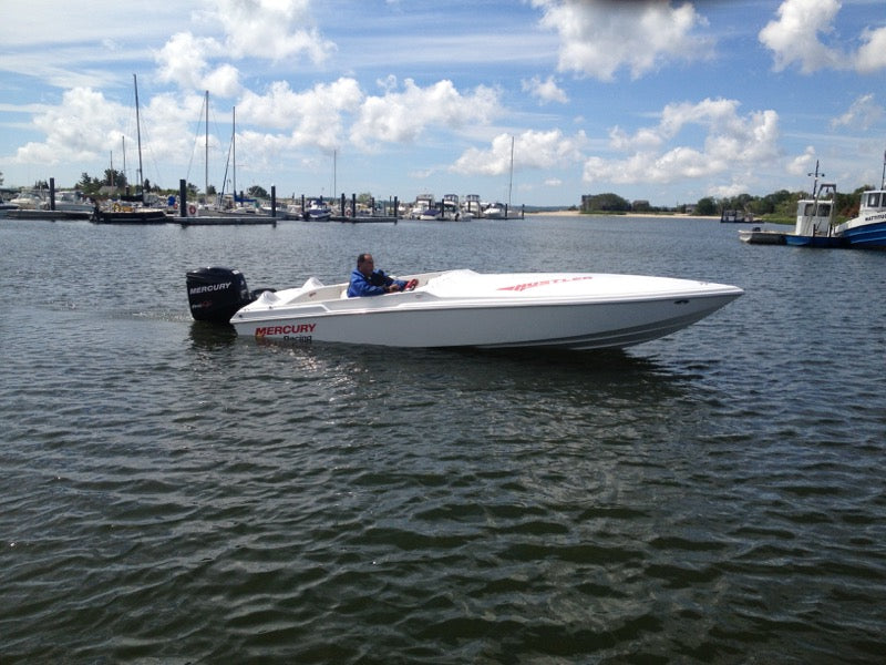 Hustler PT 221 Outboard No Engine (Auction Ended: Reserve Not Met)
