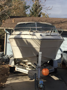 1981 Sea Ray SRV 210 With Trailer: No Reserve (auction ended)