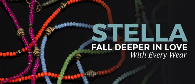 Fall deeper in love with your Stella with every wear photo leading to Betty James Stella Collection