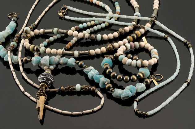 Betty James' Texan jewelry collection