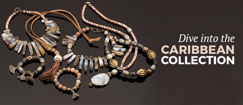 dive into the Caribbean Collection left Betty James Jewelry