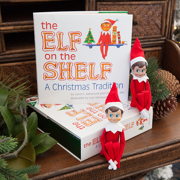 Elf On The Shelf with packaging.