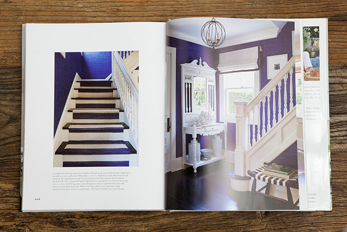 Blue staircase from In Pursuit Of Beauty