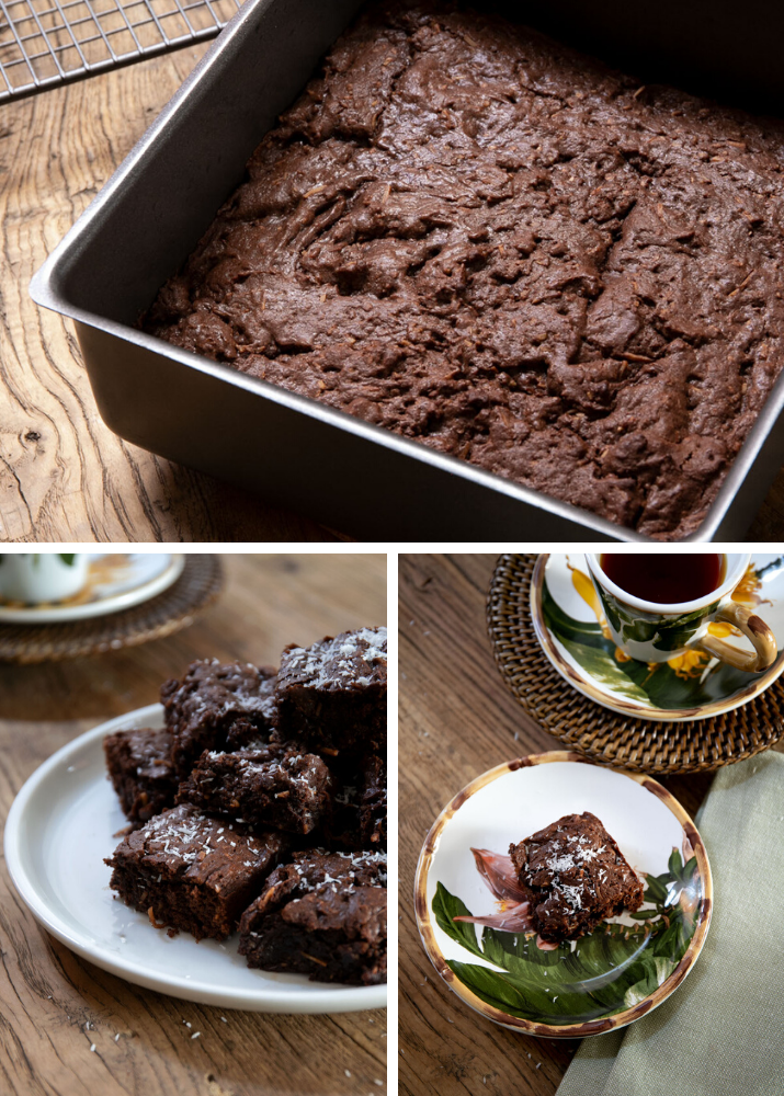 Decadent Coconut Brownies 2