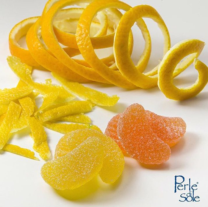 Perle Di Sole Lemon & Orange Flavoured Slices