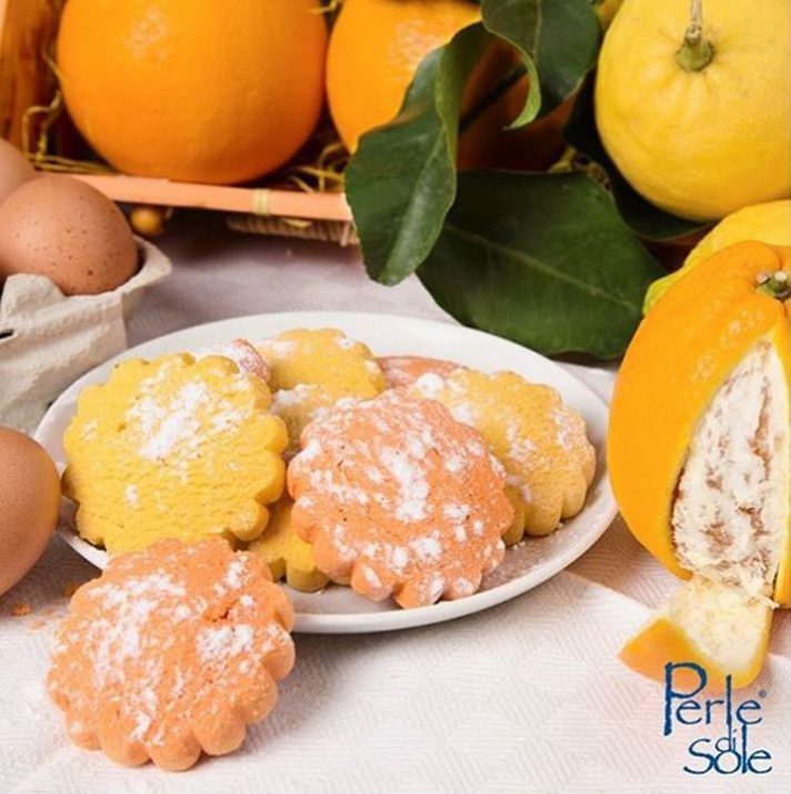 Perle Di Sole Lemon Flavoured Biscotti 200g