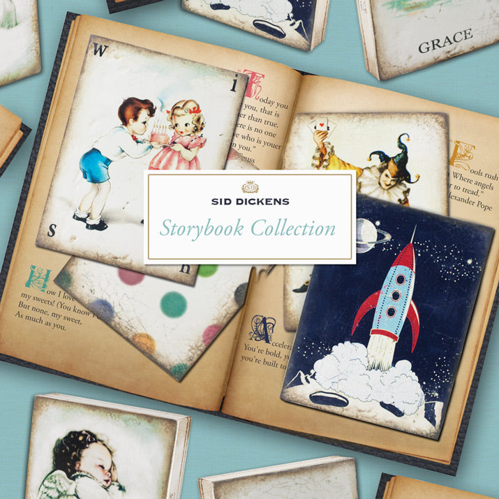 New Sid Dickens Storybook memory blocks.