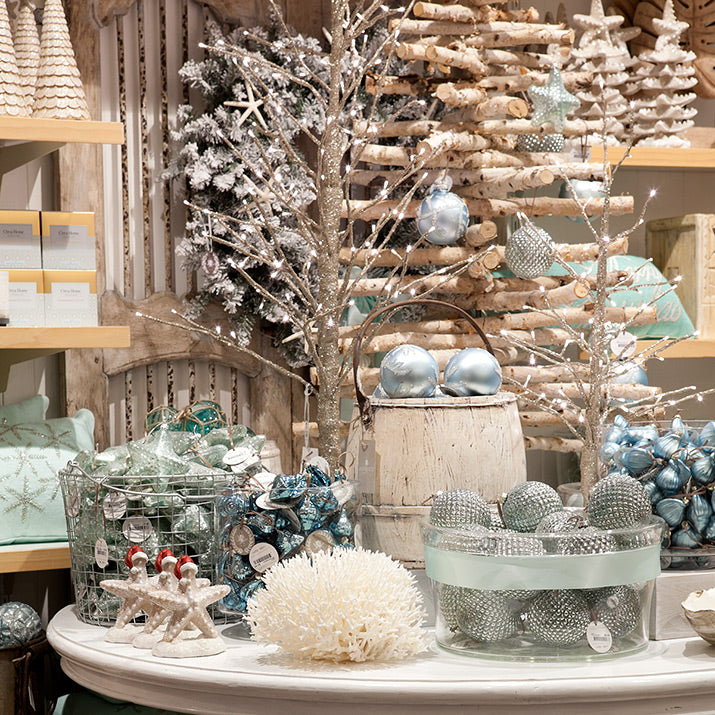 a collection of aqua decorations - Aqua Christmas Decorations