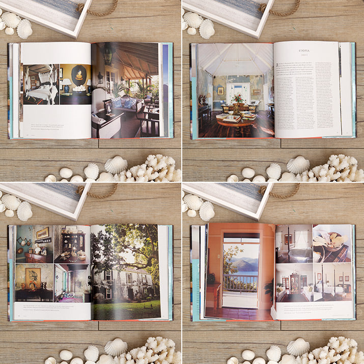 Spreads from Carribean Hideaways.