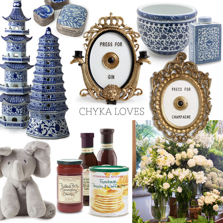 A collection of Alfresco products Chyka loves.