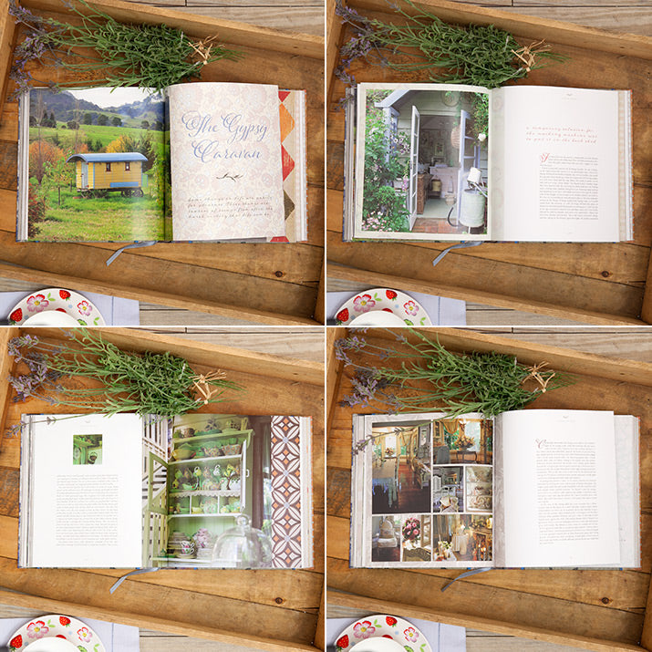 Spreads from The Cottage Under The Big Pines