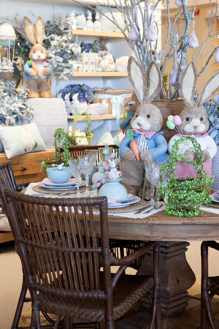 Easter dining table.