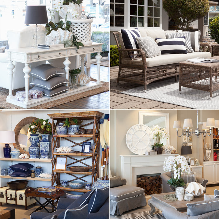 Styled pictures of the Hamptons.
