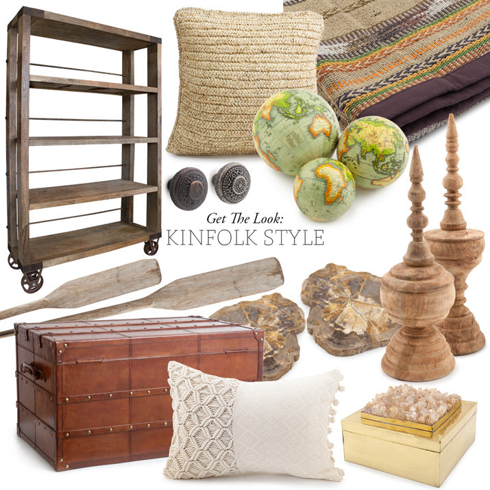 A collection of products to get the kinfolk look.