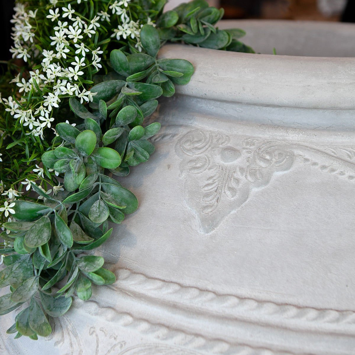 Close up of the niken planter.