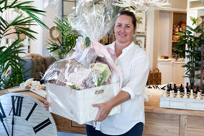 Bec Schofield, winner of our raffle.