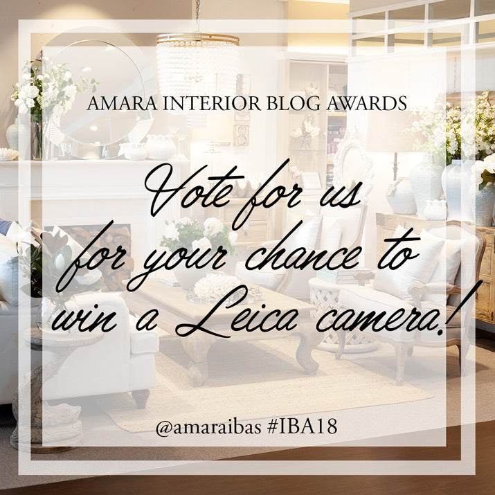 Vote for us for your chance to win.