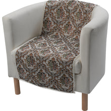 Load image into Gallery viewer, http://images.esellerpro.com/2278/I/119/923/6602-tradtional-floral-one-seater-chair-protector.jpg