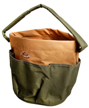 Load image into Gallery viewer, http://images.esellerpro.com/2278/I/143/792/GT05-round-bucket-bag-garden-toolbag-khaki-brown-1.jpg
