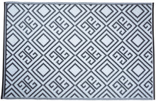 Load image into Gallery viewer, http://images.esellerpro.com/2278/I/151/963/OC12-geometric-reversible-outdoor-carpet-rug-white-side.jpg