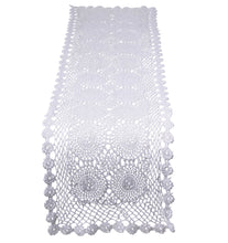 Load image into Gallery viewer, http://images.esellerpro.com/2278/I/170/186/cotton-floral-crochet-table-runner-white.jpg