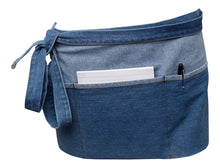 Load image into Gallery viewer, http://images.esellerpro.com/2278/I/151/235/denim-two-tone-cotton-apron-3.jpg