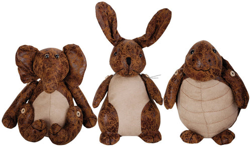 http://images.esellerpro.com/2278/I/122/830/faux-leather-suede-animal-door-stop-elephant-rabbit-turtle-group-image.jpg
