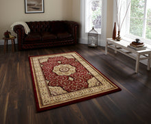 Load image into Gallery viewer, http://images.esellerpro.com/2278/I/104/771/heritage-4400-traditional-classic-design-wool-look-rug-mat-red-room.jpg