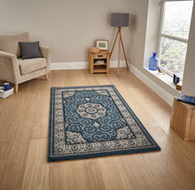 Load image into Gallery viewer, http://images.esellerpro.com/2278/I/104/771/heritage-4400-tradtional-swirl-rug-dark-blue.jpg