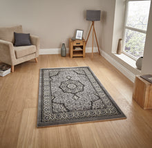 Load image into Gallery viewer, http://images.esellerpro.com/2278/I/104/771/heritage-4400-tradtional-swirl-rug-grey-silver.jpg
