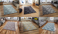 Load image into Gallery viewer, http://images.esellerpro.com/2278/I/116/952/hong-kong-4338-geometric-hexagon-design-rug-mat-room-group-image.jpg
