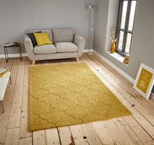 Load image into Gallery viewer, http://images.esellerpro.com/2278/I/135/496/hong-kong-8583-arabesque-trellis-pattern-rug-mat-yellow-room.jpg