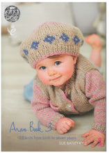 Load image into Gallery viewer, http://images.esellerpro.com/2278/I/131/513/king-cole-aran-book-3-baby-children-knitting-patterns-front-border.jpg