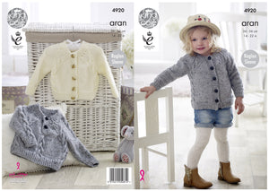 http://images.esellerpro.com/2278/I/140/085/king-cole-baby-aran-knitting-pattern-cabled-raglan-sleeve-sweater-cardigan-4920-border.jpg