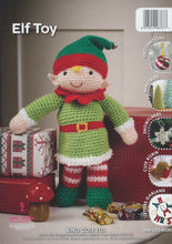 Load image into Gallery viewer, http://images.esellerpro.com/2278/I/119/105/king-cole-christmas-xmas-crochet-book-1-back.jpg