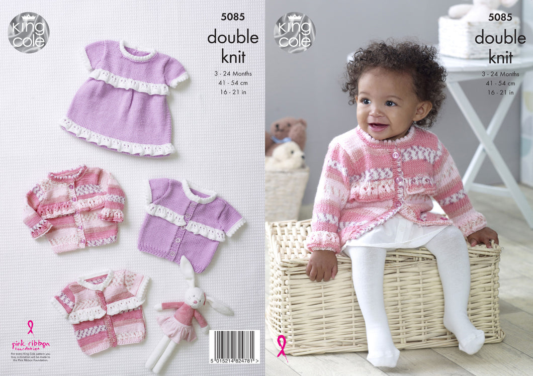 http://images.esellerpro.com/2278/I/146/937/king-cole-double-knit-knitting-pattern-baby-frilly-dress-cardigans-5085.jpg