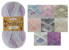 Load image into Gallery viewer, http://images.esellerpro.com/2278/I/176/429/king-cole-drifter-4ply-4-ply-knitting-yarn-wool-group-image.jpg