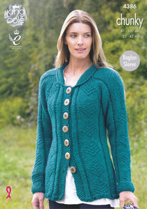 http://images.esellerpro.com/2278/I/119/458/king-cole-ladies-chunky-knitting-pattern-raglan-sleeve-cardigan-coat-4386-front.jpg