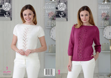 Load image into Gallery viewer, http://images.esellerpro.com/2278/I/134/360/king-cole-ladies-womens-double-knitting-pattern-boat-neck-sweater-top-4760.jpg