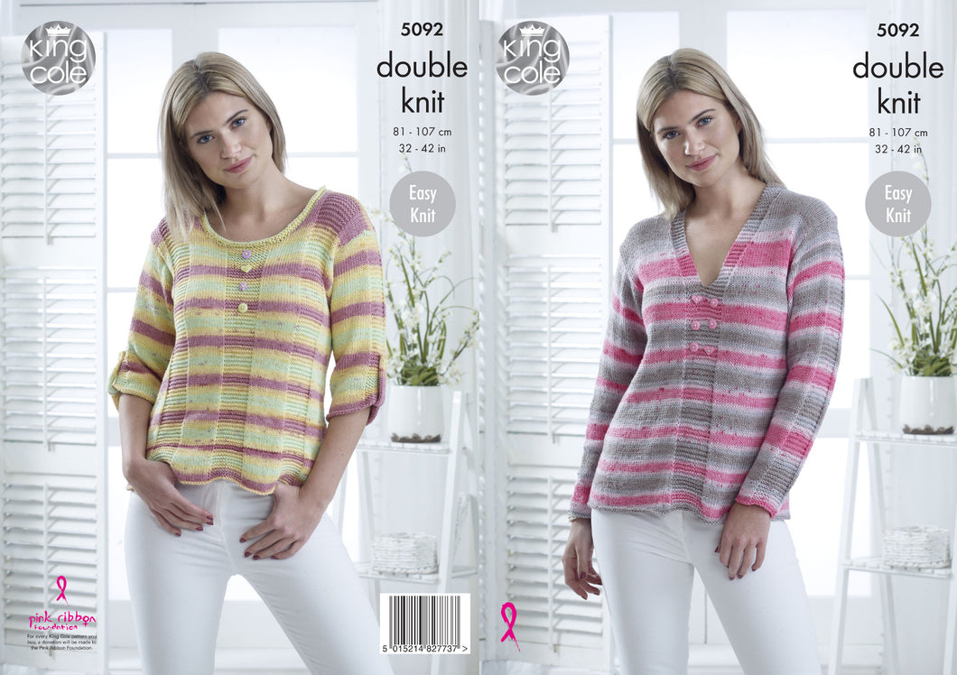 http://images.esellerpro.com/2278/I/147/818/king-cole-ladies-womens-double-knitting-pattern-easy-knit-sweaters-5092.jpg